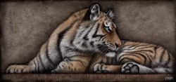 This Had Better Be Good by Colin Banks -  sized 47x22 inches. Available from Whitewall Galleries